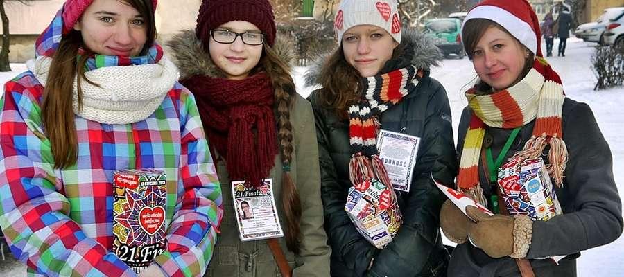 Uliczna kwesta potrwa w Płońsku od godziny 8 do 14. Ciekawe tylko, czy w zimowej scenerii...