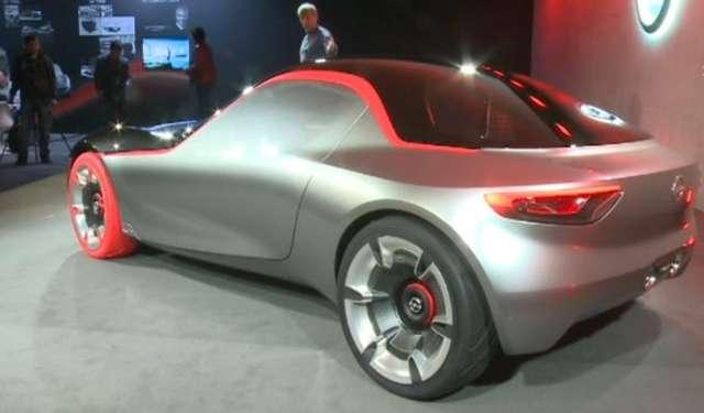 Odważnie i dynamicznie. Opel GT Concept zaprezentowany w Genewie - full image