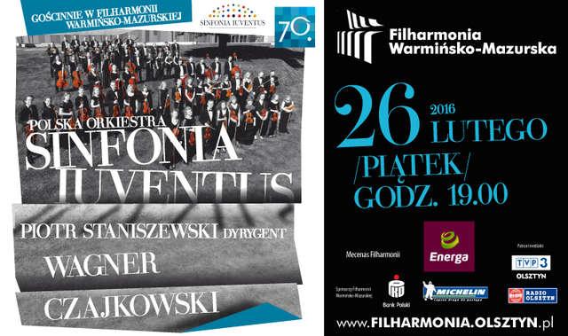 Polska Orkiestra Sinfonia Iuventus – gościnnie w Filharmonii Warmińsko-Mazurskiej - full image