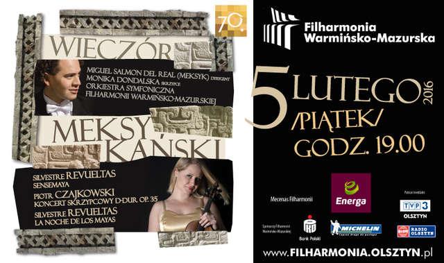 Wieczór meksykański w olsztyńskiej filharmonii - full image