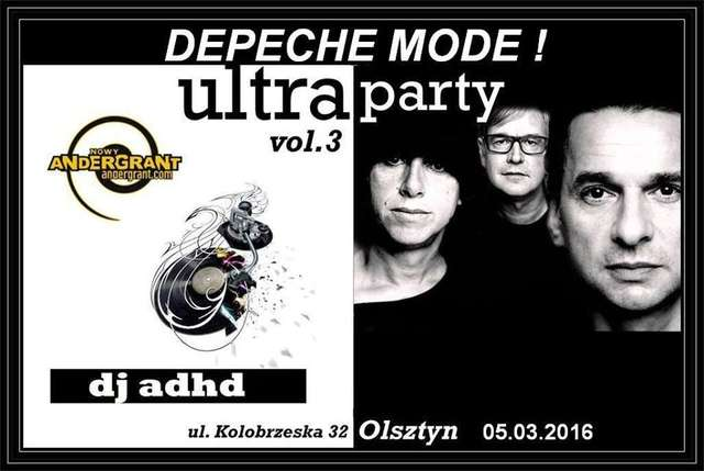 Mega Depeche Mode Party w Andergrancie - full image