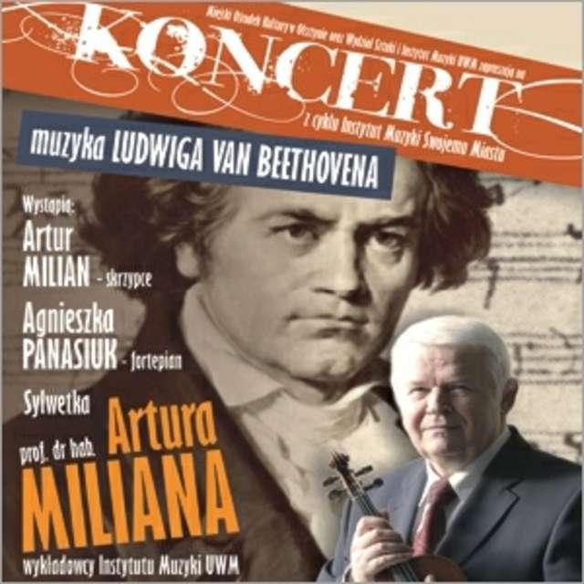 Poniedziałek z muzyką Ludwiga van Beethovena   - full image