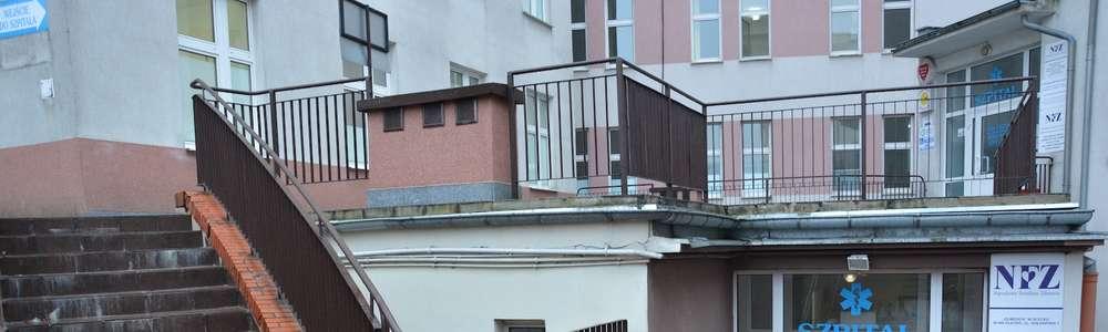 Niebezpiecznie na szpitalnych schodach