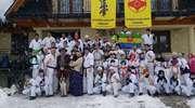 Karatecy z OKKK na zimowym obozie w Zębie