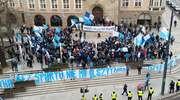 Manifestacja kibiców Stomilu
