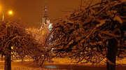 Morąg wieczorową porą na zdjęciach Antoniego Stefaniuka