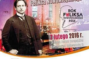 Obchody 139 rocznicy urodzin Nowowiejskiego