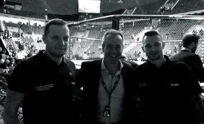 Paweł Harasim sędzią na gali UFC Fight Night Zagreb