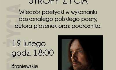 Wieczór poetycki Krzysztofa Cezarego Buszmana