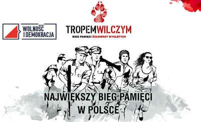 Tropem Wilczym. Bieg w Olsztynie
