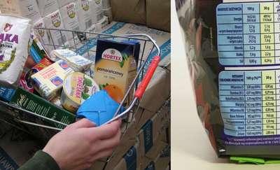 Czytaj etykiety produktów! Co w nich znajdziesz?