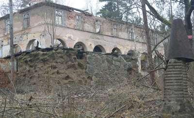 Rudziska Pasymskie: ruiny Uniwersytetu Ludowego Karola Małłka