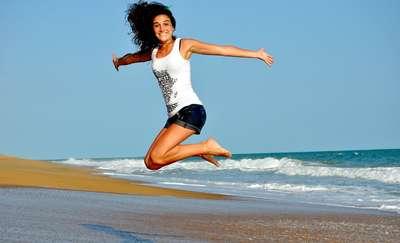 Sport sposobem na szczęście, więc biegaj i ćwicz!