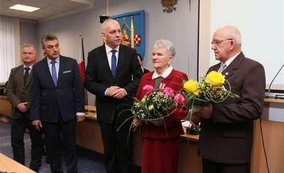 Państwo Śliwka otrzymali medal za trzech synów w wojsku