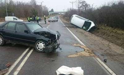 Wypadek na ul. Gdyńskiej. 6 osób rannych
