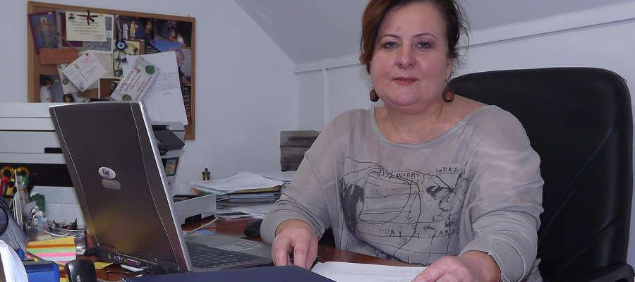 Beata Szymankiewicz, dyrektor Muzeum Wojska, Wojskowości i Ziemi Orzyskiej