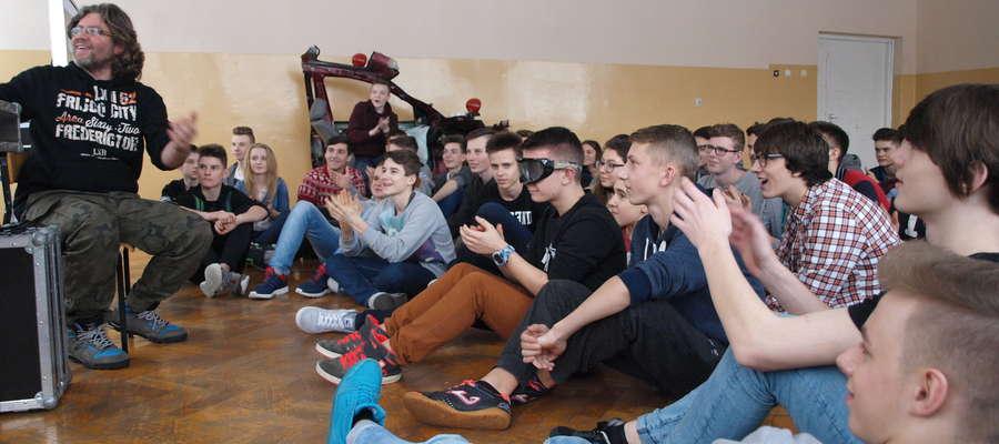 W piątek odbyło się spotkanie z uczniami Zespołu Szkół nr 2 w Żurominie