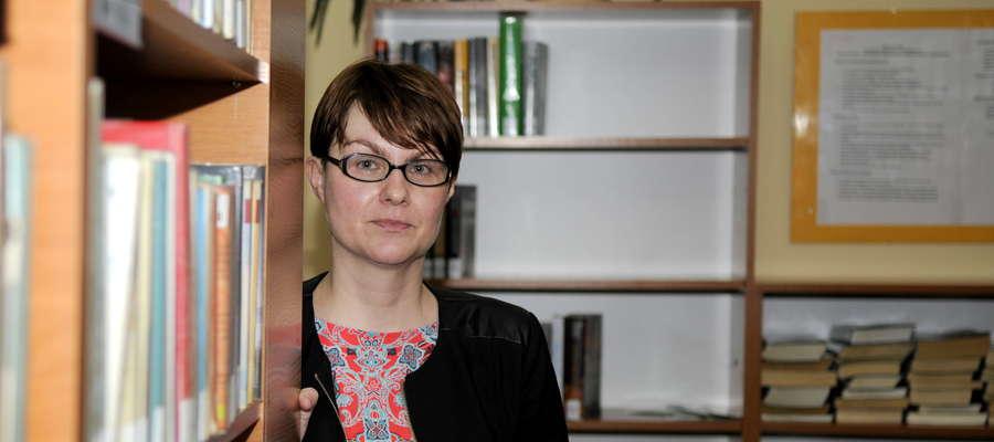 Dyrektor biblioteki Joanna Rakoczy