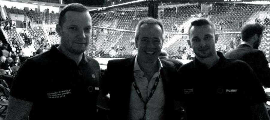 zdjęcie z Senior Vice-President UFC David Allen
