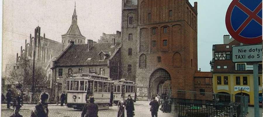 Zdjęcia starego i nowego Olsztyna zmiksował Konrad, nasz czytelnik