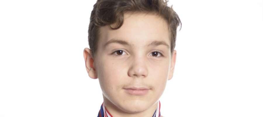 Ksawery Popławski, dwunastoletni mieszkaniec Starych Juch, twierdzi, że woda jest jego żywiołem.