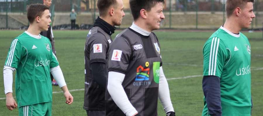 Patryk Lubański i Jarek Sawicki w spotkaniach kontrolnych