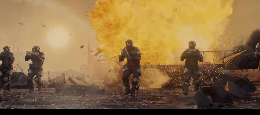 "Kadr z filmu: Official Call of Duty®: Black Ops III Live Action Trailer - ""Seize Glory""."