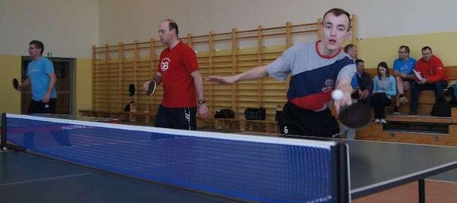 Podczas tenisowych zmagań w Gwiździnach