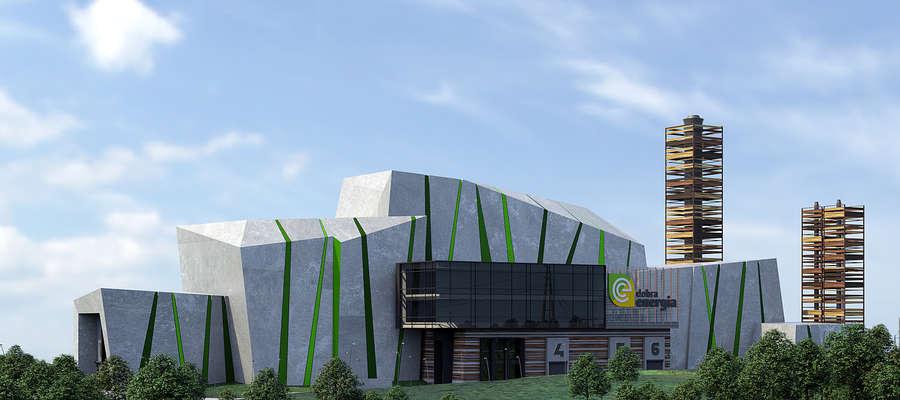 Wstępny projekt architektoniczny elektrociepłowni został wybrany przez mieszkańców Olsztyna w głosowaniu internetowym