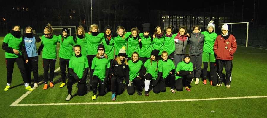 Żeńska drużyna GKS-u Wikielec przygotowuje się do nowego sezonu