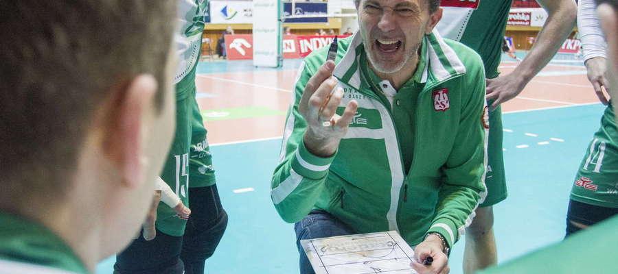 Andrea Gardini nadal będzie prowadził olsztyński zespół.