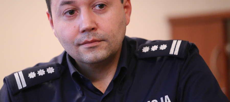 Tomasz Klimek (na zdjęciu) zastąpił na stanowisku inspektora Marka Walczaka.