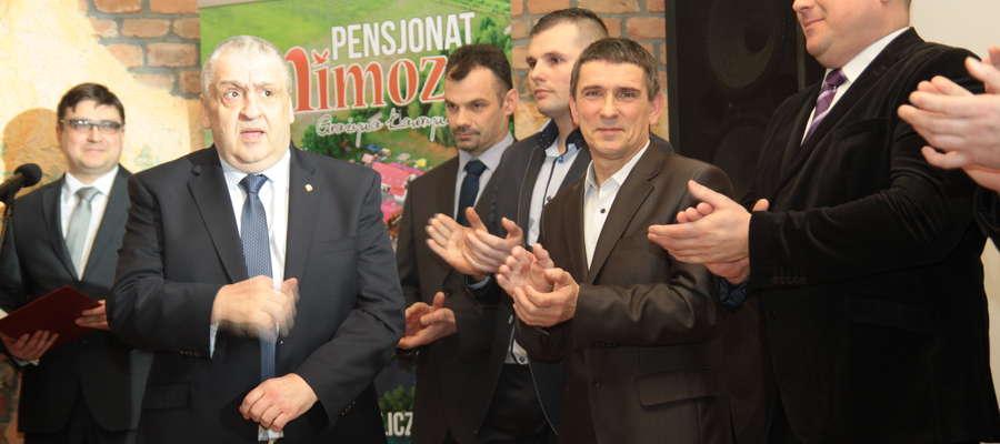 Wyróżnienia odbiorą m.in. trenerzy. Na zdjęciu Andrzej Litwin — Trener Roku 2014