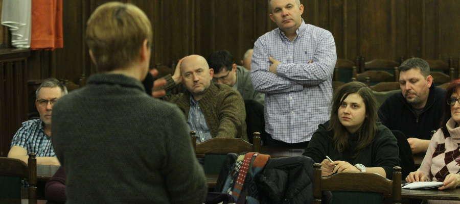 Konsultacje społeczne w sprawie parku kulturowego na olsztyńskiej starówce odbyły się w ratuszu