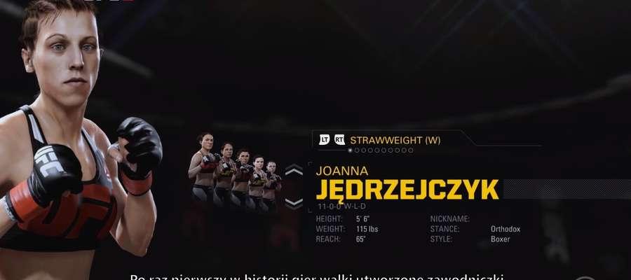 "Fragment nagrania ""EA SPORTS UFC 2 - rozgrywka: tryb kariery i Online Championships"""