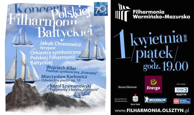 Koncert Polskiej Filharmonii Bałtyckiej z Gdańska - full image