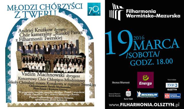 Dwa chóry z Rosji w Filharmonii - full image