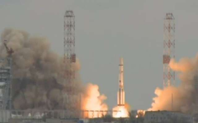 Sonda ExoMars wystartowała z Bajkonuru. Sprawdzi, czy na Marsie jest życie - full image