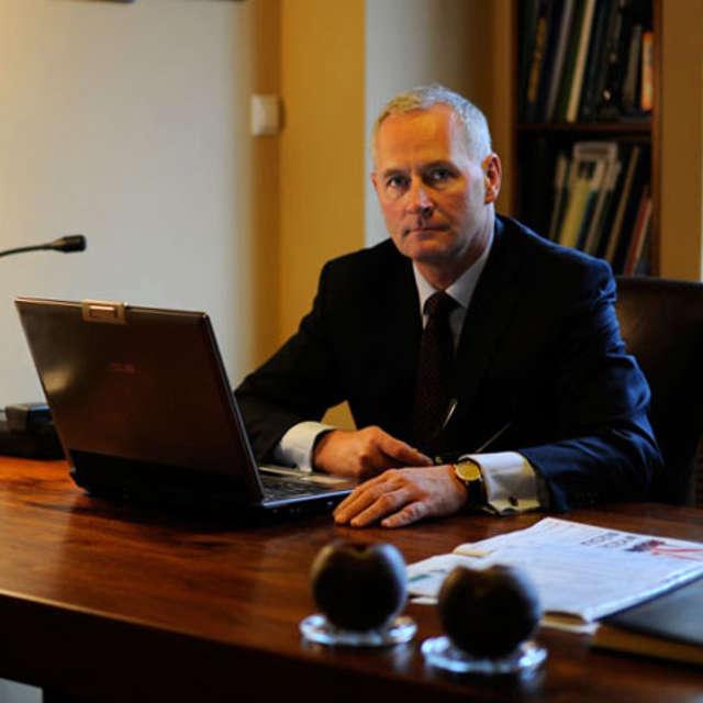 Prof. Maciej Michalik, kierownik Katedry i Kliniki Chirurgii Ogólnej i Małoinwazyjnej Uniwersytetu Warmińsko-Mazurskiego - full image