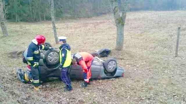 Wypadek w Miłogórzu