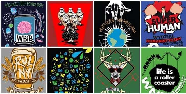 Kortowiada 2016: Zobacz projekty koszulek wydziałowych. Która najlepsza? - full image