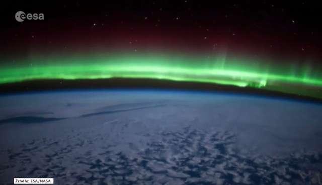 Zorza polarna widziana z kosmosu [FILM] - full image