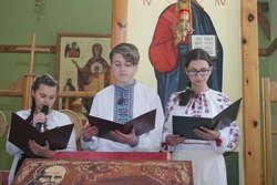 Uczniowie uczcili Tarasa Szewczenkę