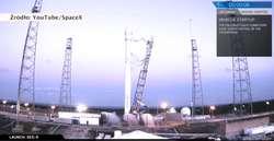 Rakieta Falcon 9 wyniosła na orbitę satelitę. Rozbiła się podczas lądowania