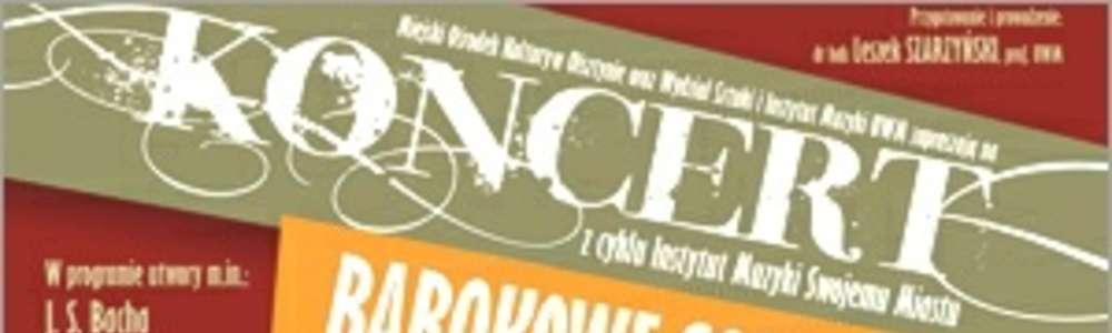 Barokowy koncert w Kamienicy Naujacka