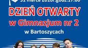 Gimnazjum nr 2 w Bartoszycach otwiera swoje podwoje!