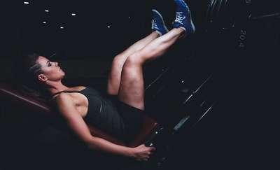 Podejmij wyzwanie Mel B. Ćwiczenia na nogi