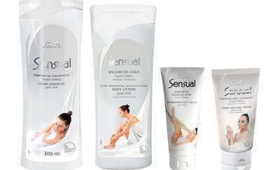 Kosmetyki Sensual z kozim mlekiem