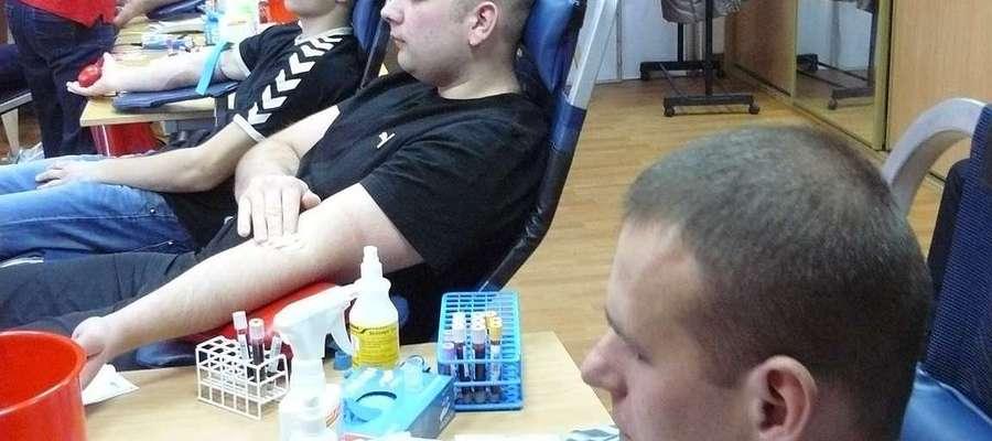 Honorowe oddawanie krwi w Wielbarku, to już tradycja
