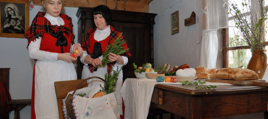 W Skansenie można poznać tradycje i obrzędy wielkanocne